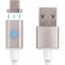 LED Magnetic USB 2.0 to micro USB Cable
