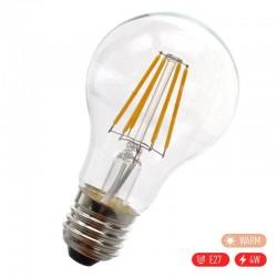 Βιδωτή ρετρό λάμπα Edison LED E27/4W