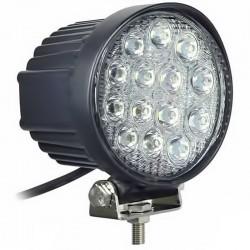 Στρογγυλός προβολέας 14 LEDs 42W με ψυχρό φως