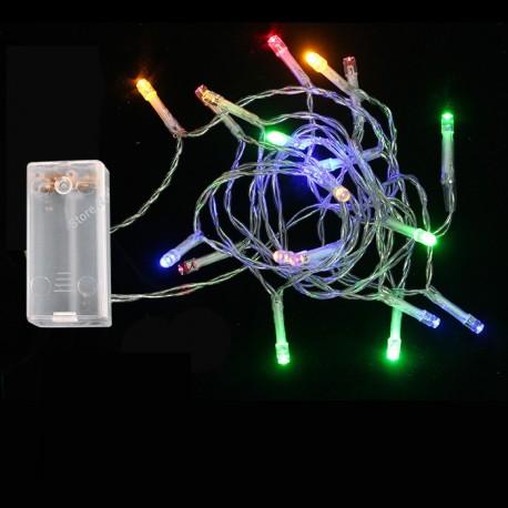 Χριστουγεννιάτικα Λαμπάκια 20 LED Με Μπαταρία