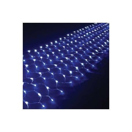Χριστουγεννιάτικα Λαμπάκια Δίχτυ 360 LED Με Άσπρο Καλώδιο
