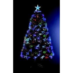 Χριστουγεννιάτικο Δέντρο Έλατο Με Οπτικές Ίνες 180cm