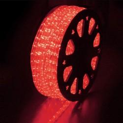 Φωτοσωλήνας LED Πλακέ Διάφανος Κόκκινο Φως Με Το Μέτρο