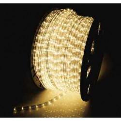 Φωτοσωλήνας LED Πλακέ Διάφανος Κίτρινο Φως Με Το Μέτρο