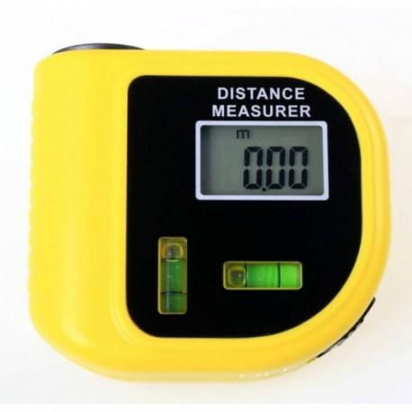 Αποστασιόμετρο laser με αλφάδι με εύρος μέτρησης 0,91Μ έως 15Μ