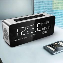 Φορητό ηχείο Bluetooth 4.1 12W με ρολόι, ραδιόφωνο και είσοδο USB/SD/AUX - Sardine