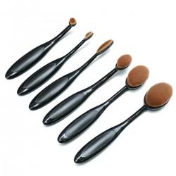 Σετ πινέλα μακιγιάζ oval brush 6 τεμαχίων