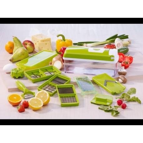 Έξυπνος πολυκόφτης λαχανικών και φρούτων με 14 διαφορετικά εργαλεία κοπής