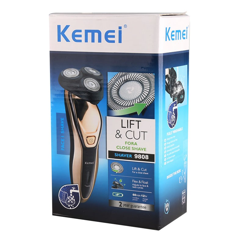 Επαναφορτιζόμενη Ξυριστική Μηχανή KEMEI - Smart Factor 5f0435474c6