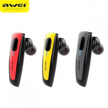 Bluetooth ασύρματα ακουστικά AWEI  BLACK