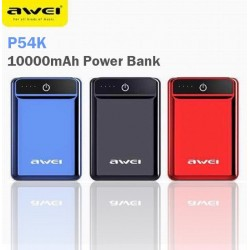 Mini Power Bank με δύο εισόδους 2A Awei