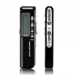 Ψηφιακός καταγραφέας φωνής 4GB USB LCD MP3