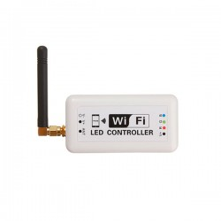 Wi-fi mini controller WIFIMINI 12-24V DC για RGB (εναλλαγής χρωμάτων) λωρίδες led