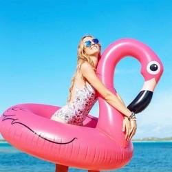 Φουσκωτό σωσίβιο θαλάσσης Flamingo 120cm