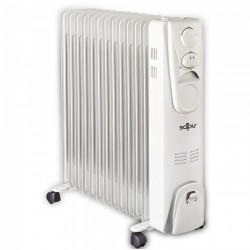 Καλοριφέρ SAPIR , έως 2500W, 13 φέτες, 3 ρυθμίσεις, Ρυθμιζόμενος θερμοστάτης