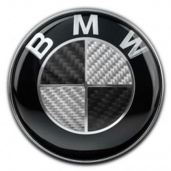Σήμα BMW Carbon 74mm