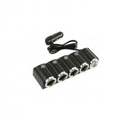 Τετραπλός φορτιστής αναπτήρα αυτοκινήτου  1X USB