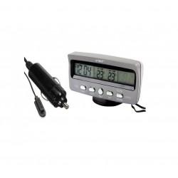 Ψηφιακός Μετρητής Αυτοκινήτου για μέτρηση θερμοκρασίας και ώρας