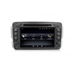 Ηχοσύστημα αυτοκινήτου 2DIN   Mercedes   W203   Android    2GB/16GB
