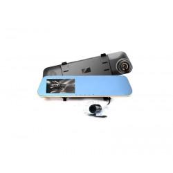Καθρέπτης  κάμερα αυτοκινήτου 2.5'  Mε κάμερα οπισθοπορείας  Full HD 1080P