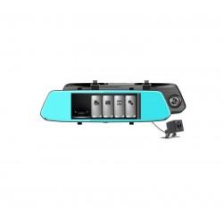 Καθρέπτης  κάμερα αυτοκινήτου 2.5'  Mε κάμερα οπισθοπορείας  Full HD 1080P  F700