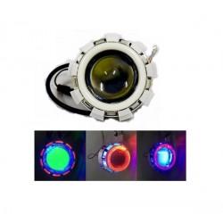 Προβολέας μηχανής LED  Triple Ring  V06