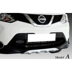 Nissan Qashqai '13 front diffuser a