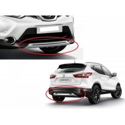 Spoiler Μπροστά-Πίσω Nissan Qashqai J11 (2014-2017)