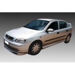 Opel Astra G Εμπρός Spoiler K13_001
