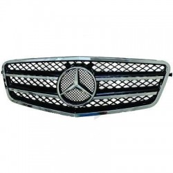 Mercedes W212 AMG Design Μάσκα εμπρός με σήμα 2009+