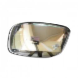 NISSAN NAVARA D40 PICK-UP 06+ χρωμίου ABS καπάκι καθρέφτη