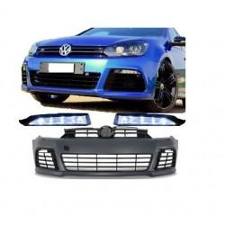 Προφυλακτήρας Μπροστά R-Style Για Volkswagen Golf 6 2008-2011