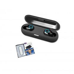 Ασύρματα ακουστικά με βάση φόρτισης  Q10