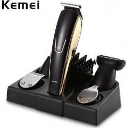 Επαναφορτιζόμενη μηχανή για κούρεμα ξύρισμα και τριμάρισμα 5 σε 1 Kemei