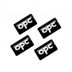 4/Τεμ Αυτοκόλλητα Ανάγλυφα OPC