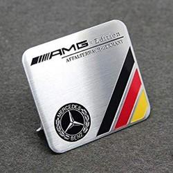 Αυτοκόλλητο Μεταλλικό AMG Edition