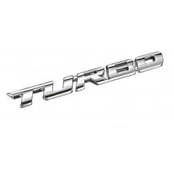 Αυτοκόλλητο Μεταλλικό Turbo