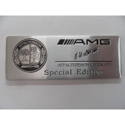 Αυτοκόλλητο ανάγλυφο AMG Edition