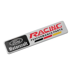 Αυτοκόλλητο Μεταλλικό Ford Racing