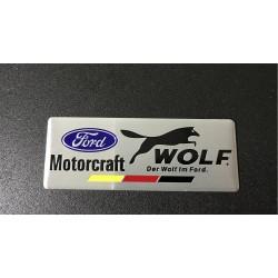 Αυτοκόλλητο Μεταλλικό Ford Wolf