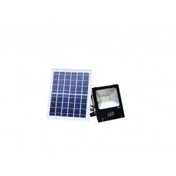 Αδιάβροχος προβολέας 30W IP66 με ηλιακό πάνελ  LED Flood Light Solar  8153