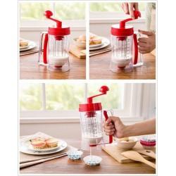 Συσκευή για Τηγανίτες, Κρέπες, Pancakes, Muffins & Cupcakes με Αναδευτήρα