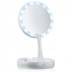 Καθρέφτης μακιγιάζ με LED