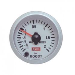 Όργανο Auto Gauge μπαρόμετρο Λευκό /Λευκό Φως