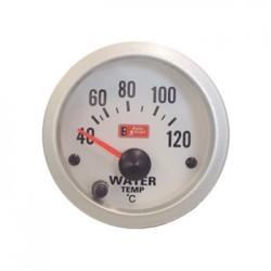 Όργανο Auto Gauge θερμοκρασία νερού Λευκό/Λευκό Φως