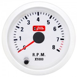 Στροφόμετρο Λευκό AutoGauge