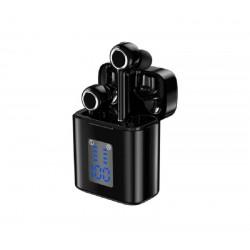 Ασύρματα ακουστικά με οθόνη και βάση φόρτισης TWS TG905