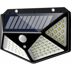 SH-100 Ηλιακό Επιτοίχιο Φωτιστικό LED με Ανιχνευτή Κίνησης