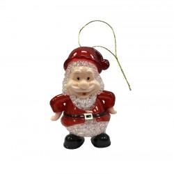 Χριστουγεννιάτικο στολίδι  Άγιος Βασίλης 10cm