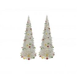 Χριστουγεννιάτικο στολίδι  Σετ 2Χ δέντρα  20cm